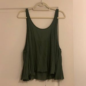 Intimately FP Khaki High Low Tank